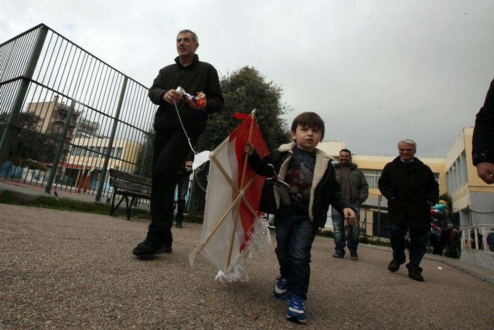 Ολυμπιακός: «Ο Πειραιάς γιόρτασε τα Κούλουμα» (photos)