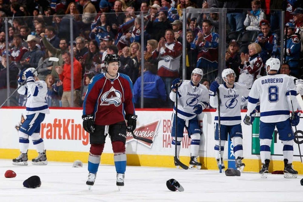 NHL: Χατ τρικ για Nathan MacKinnon (videos)