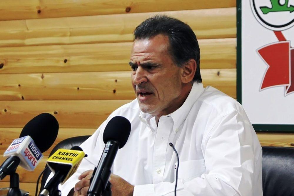 Πανόπουλος: «Να κατατεθεί σχέδιο για το πως θα λήξουν τα πρωταθλήματα»