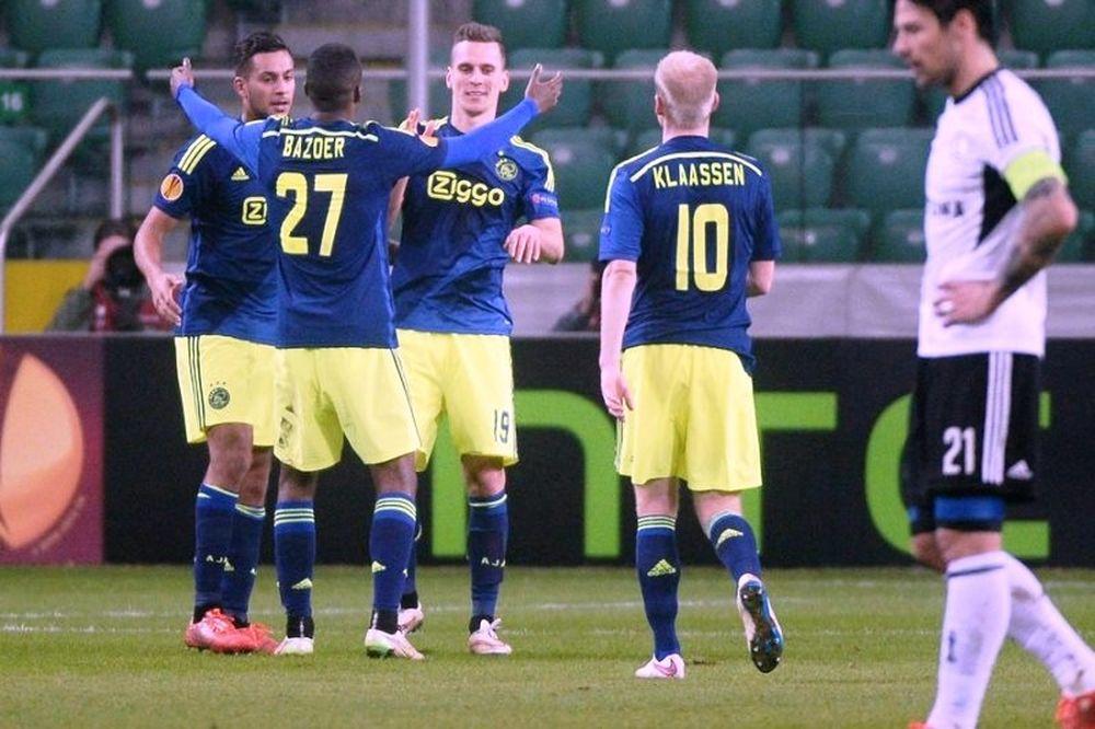 Λέγκια Βαρσοβίας – Άγιαξ 0-3 (videos)