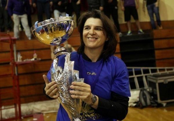 Καπογιάννη: «Χαρούμενη για το Κύπελλο»