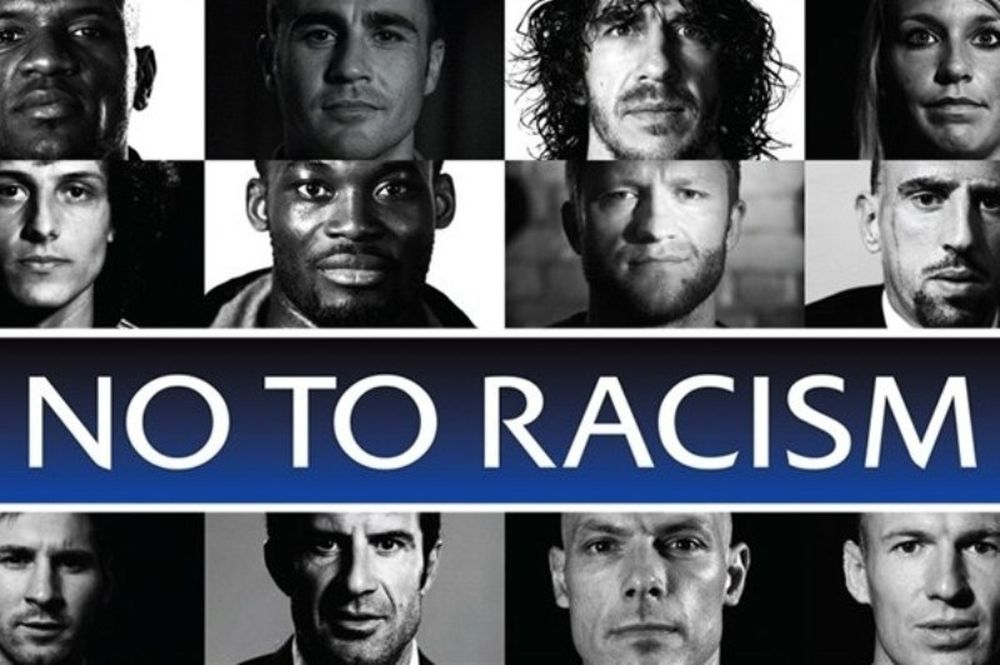 Αποτέλεσμα εικόνας για ρατσισμος ποδοσφαιρο