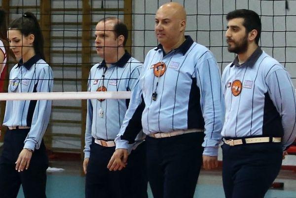 Βόλεϊ: Έλληνες Διαιτητές σε Ευρωπαϊκούς Ημιτελικούς