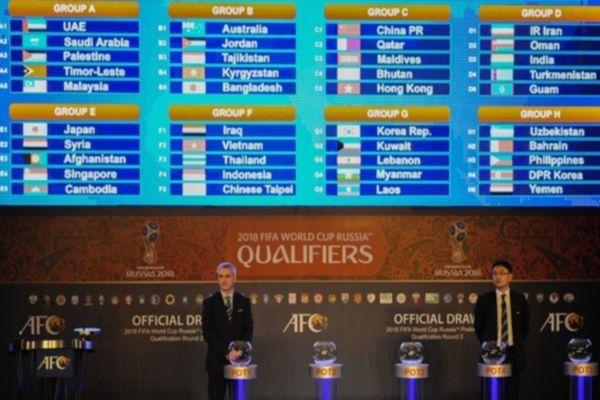 Προκριματικά Μουντιάλ: Κλήρωση για τον δεύτερο γύρο της Ασίας