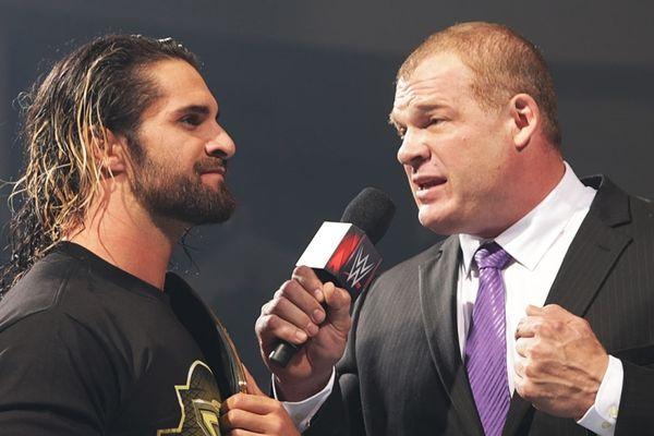 Raw: Triple Threat για τον τίτλο του Rollins (photos+videos)