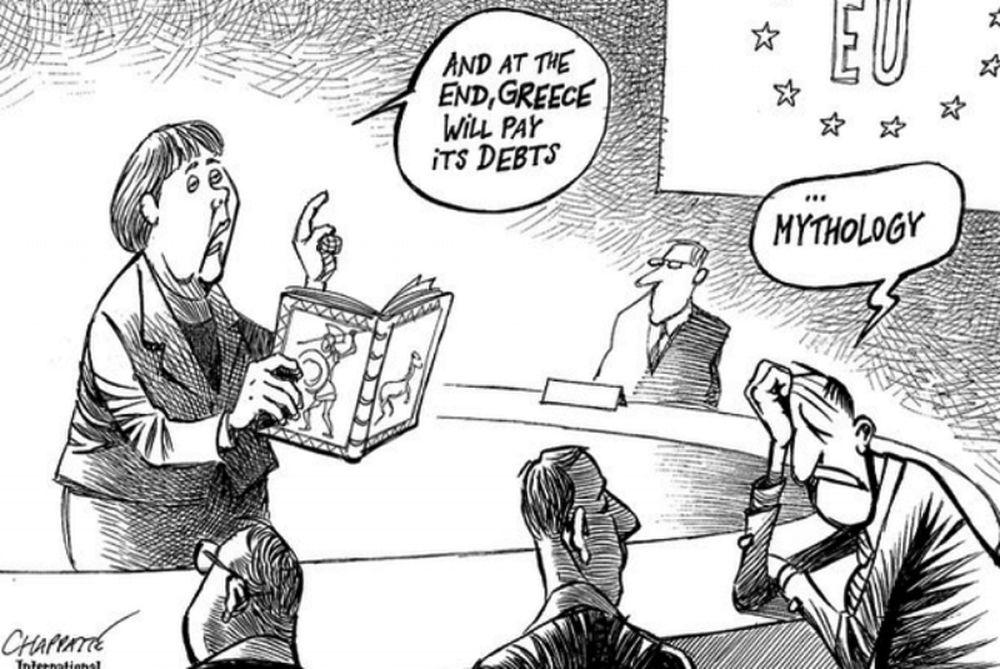 Η... δασκάλα Μέρκελ διδάσκει ελληνική μυθολογία!