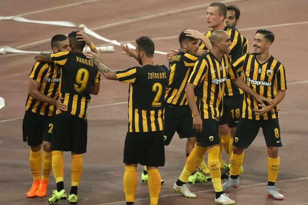 ΑΕΚ - Σεβίλλη: Το γκολ του Αραβίδη (video)