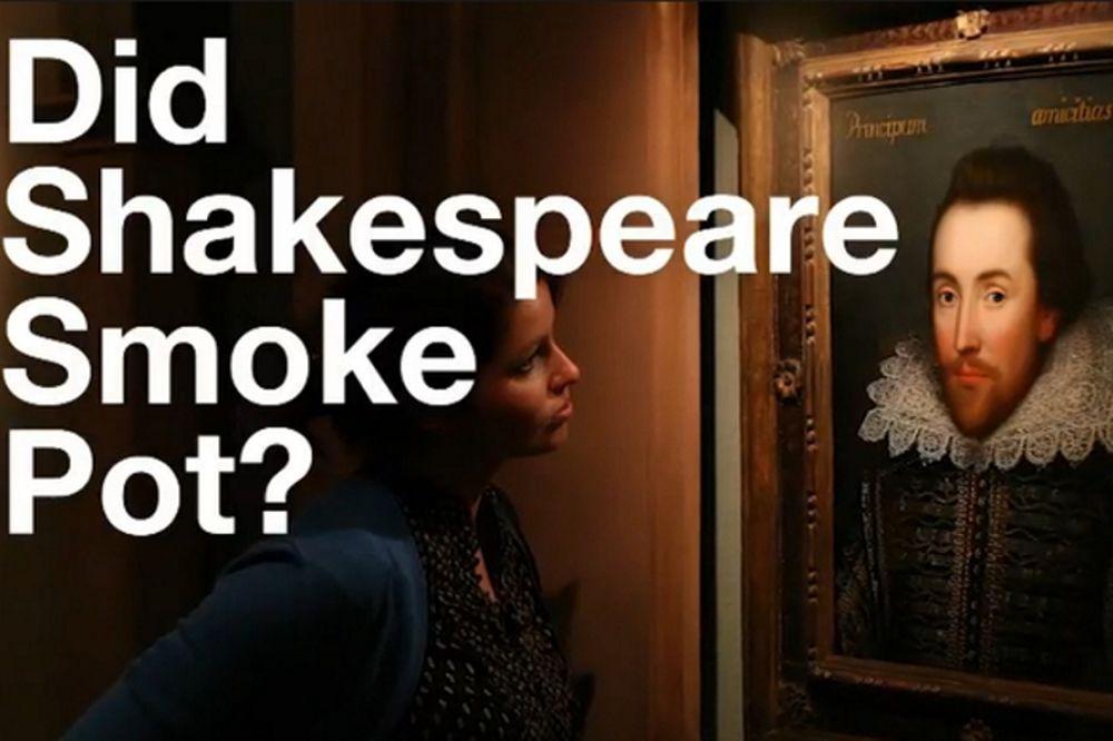 Κάπνιζε χασίς ο Σαίξπηρ ή δεν κάπνιζε; Ιδού η απορία! (video)