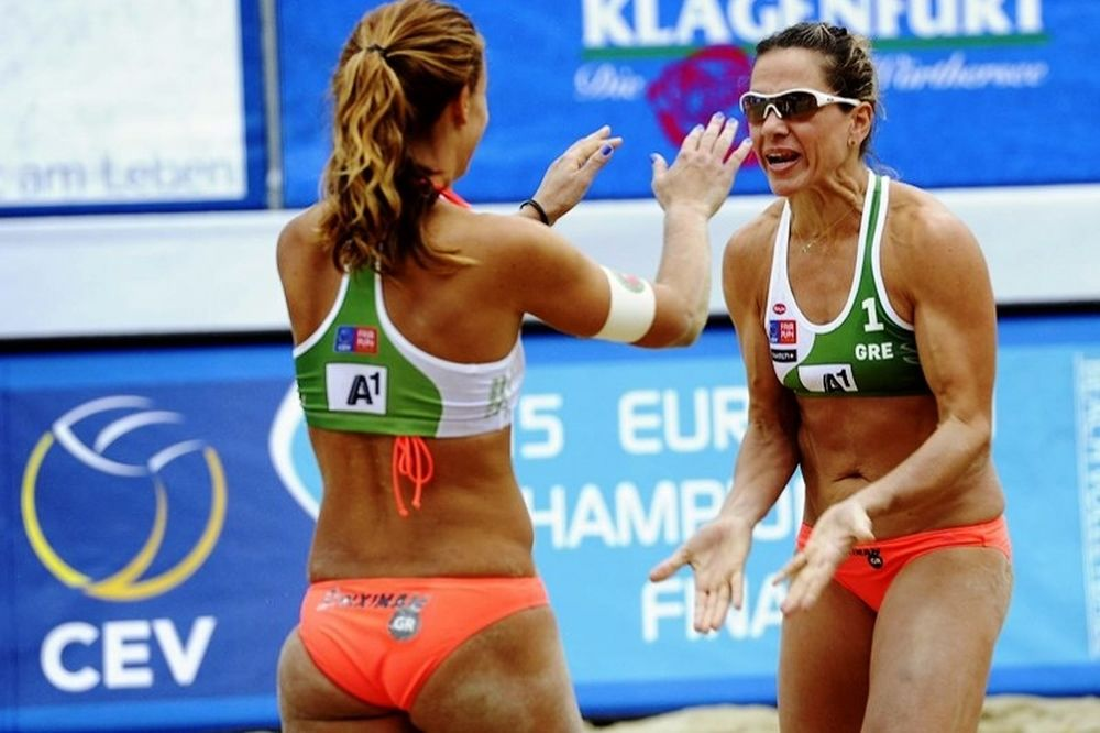 Beach Volley: «Βασίλισσες» στην άμμο Αρβανίτη - Τσιαρτσιάνη