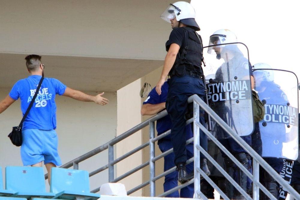 Πέντε συλλήψεις για το ξύλο στο Πανθεσσαλικό!