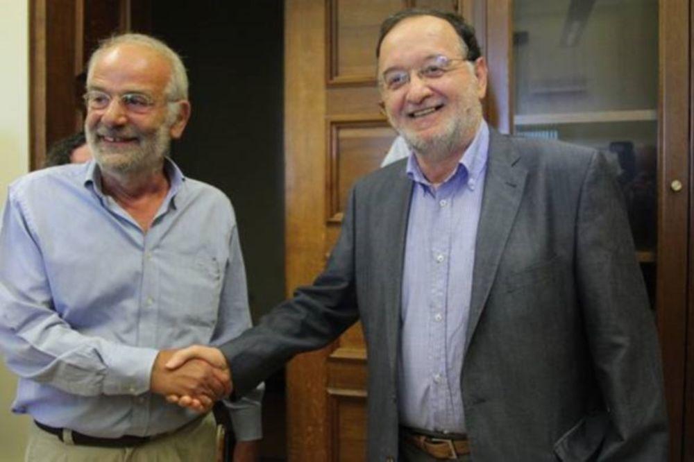 Εκλογές: Ενώνουν τις δυνάμεις τους Λαφαζάνης και Αλαβάνος