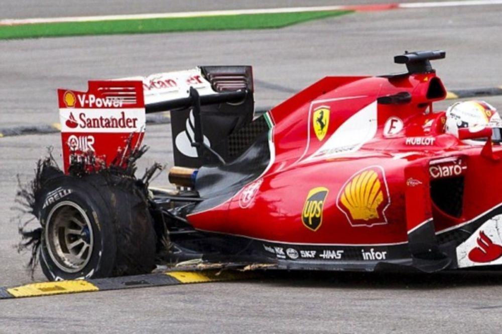 Έξαλλος με Pirelli ο Φέτελ: «Θα την είχα γα...σει»! (video)