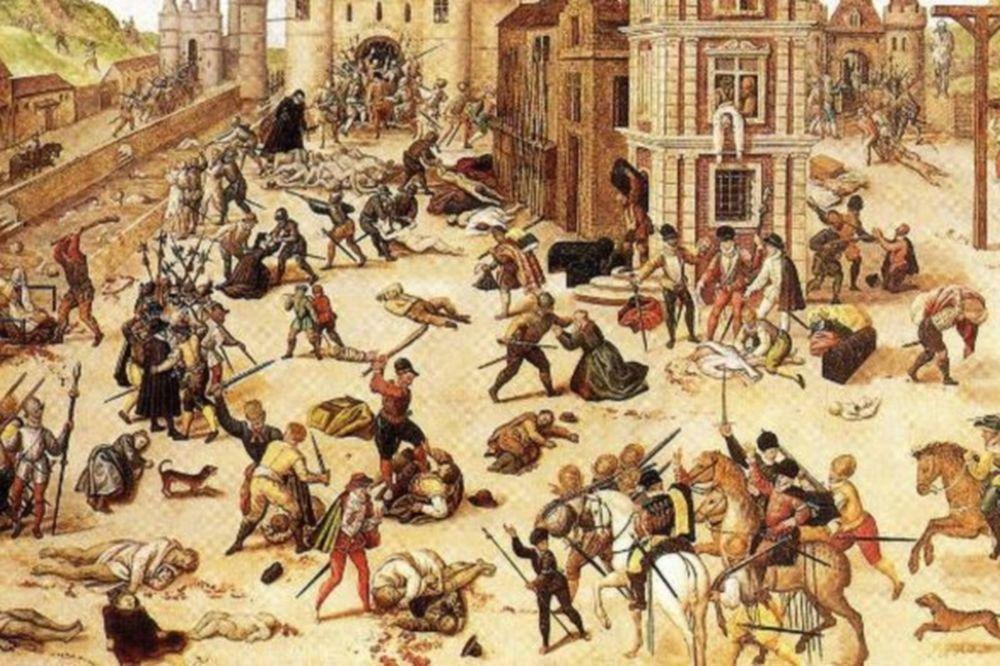 Τι ήταν η νύχτα του Αγίου Βαρθολομαίου;