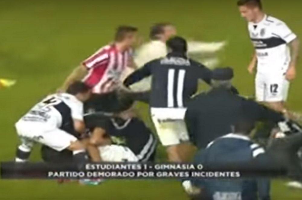 Απίστευτο ξυλίκι σε φιλικό αγώνα στην Αργεντινή! (video)