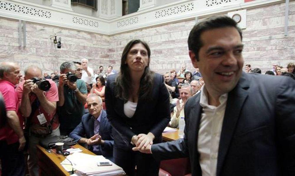 Κωνσταντοπούλου: Έχω ακόμα τα μηνύματα του Τσίπρα για τον Φίλη