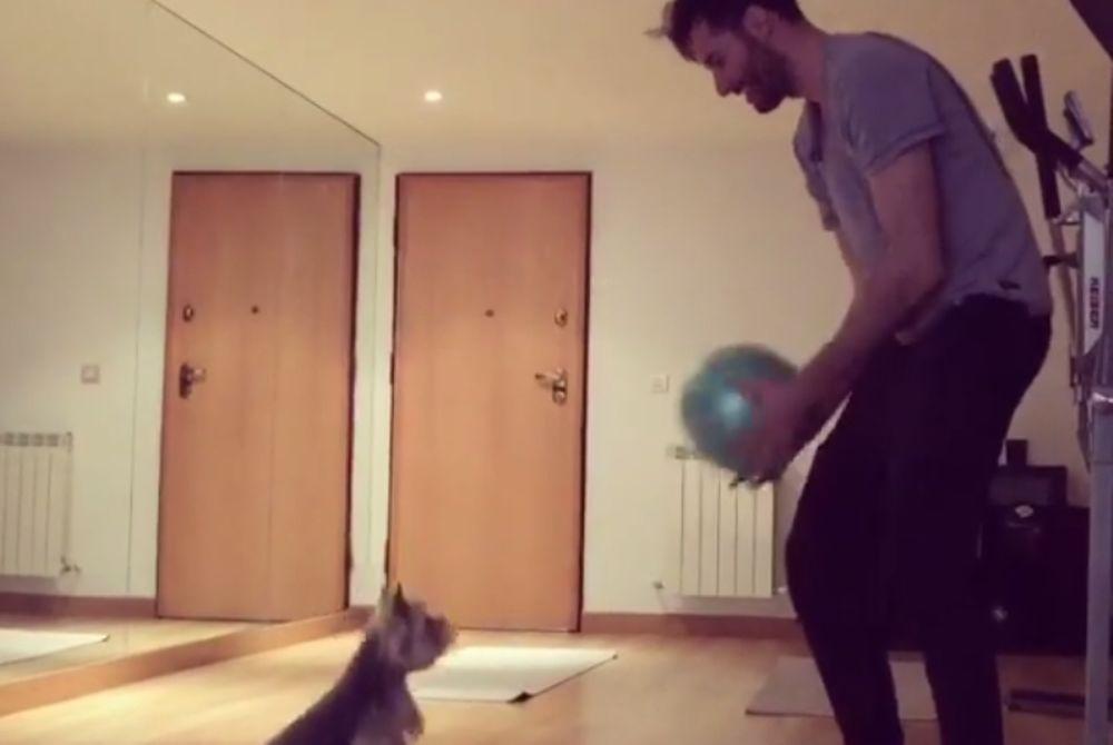 Καλύτερος πασέρ από τον Ρούντι… ο σκύλος του! (video)