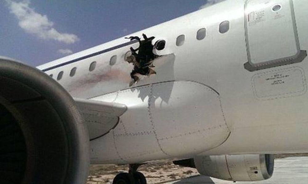 Από έκρηξη βόμβας άνοιξε η τρύπα σε αεροσκάφος ενώ βρισκόταν στον αέρα