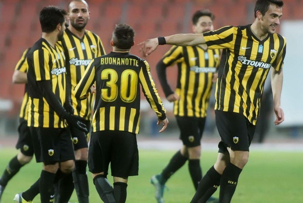 Πρόκριση στο ρελαντί η ΑΕΚ, 1-0 τον Ηρακλή