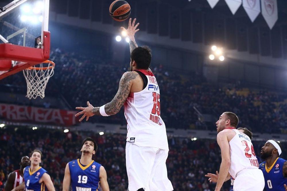 Ολυμπιακός - Χίμκι 89-77: Το πήρε μόνος του ο Πρίντεζης