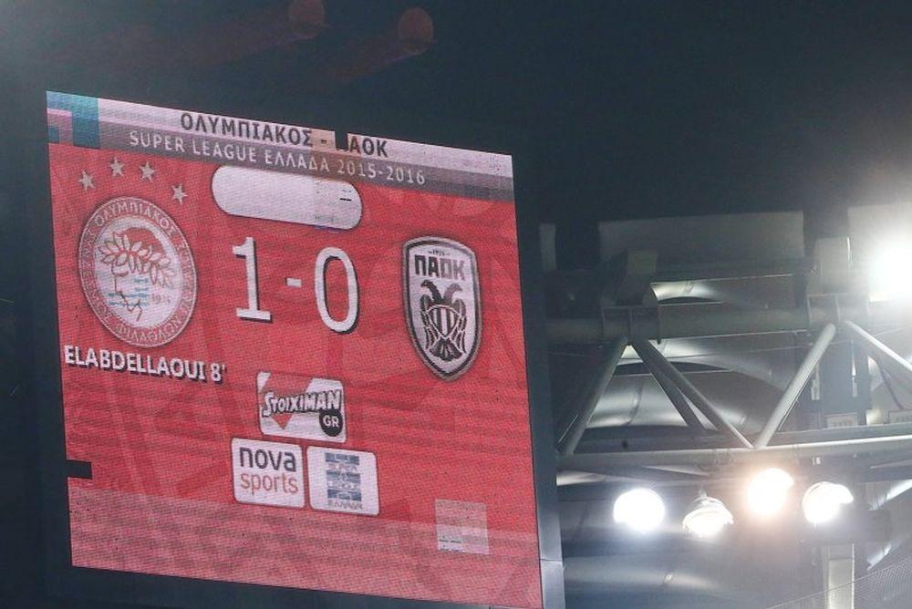 Ολυμπιακός – ΠΑΟΚ 1-0: Τα επίσημα highlights (video)