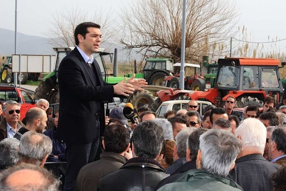 Aλέξη, προεκλογικά πήγαινες εσύ στους αγρότες, τώρα ήρθαν αυτοί σε σένα!