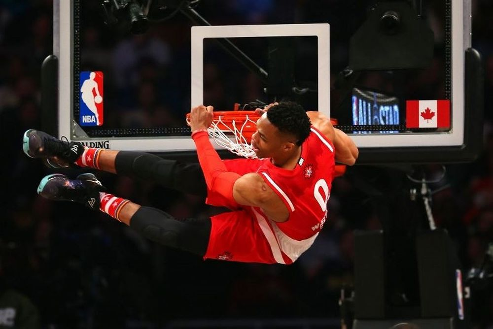 O Westbrook είναι το All-Star Game! (photos+videos)