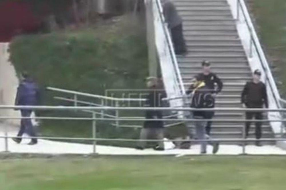 Ξύλο στην Πόλη ανάμεσα σε οπαδούς της Φενέρ και της Λοκομοτίβ (video)