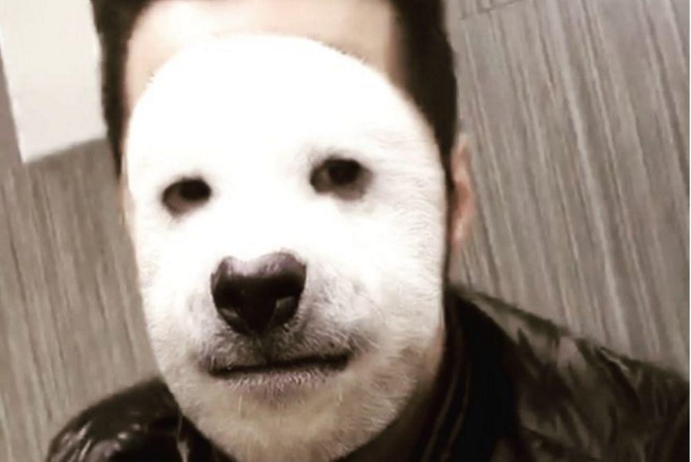 O Tσαλίκης έγινε… σκύλος και αυτοτρολάρεται (video)