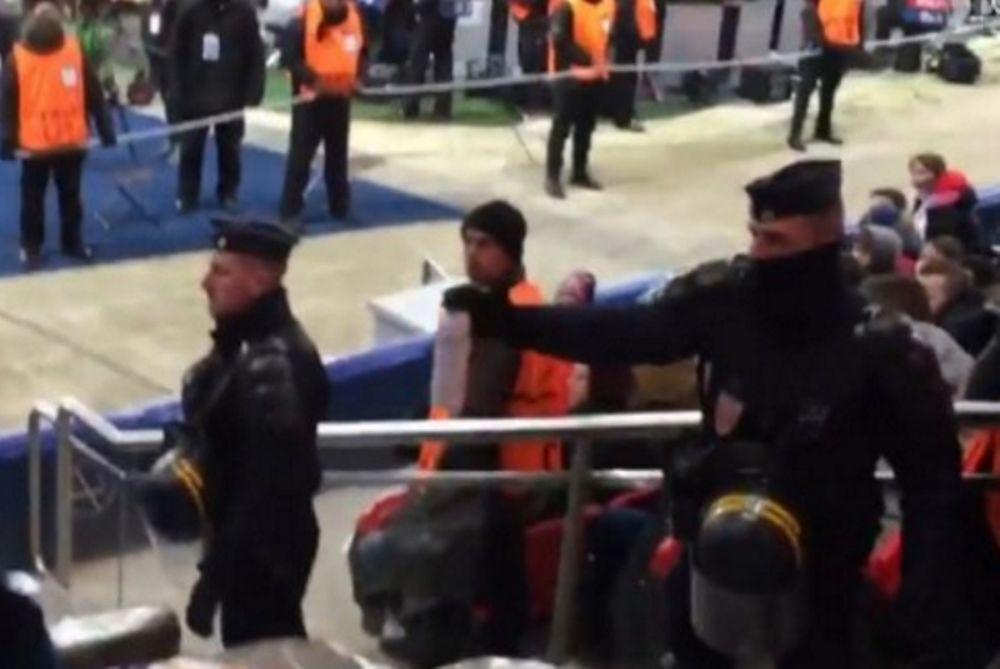 Απείλησαν με δακρυγόνα τους οπαδούς της Τσέλσι! (video)