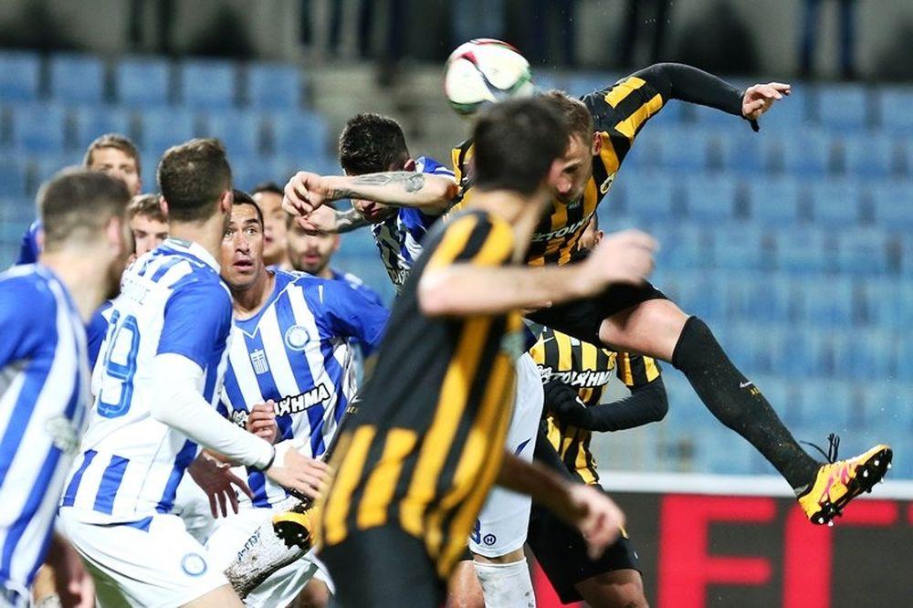 Ηρακλής – ΑΕΚ 1-1: Τα επίσημα highlights (video)