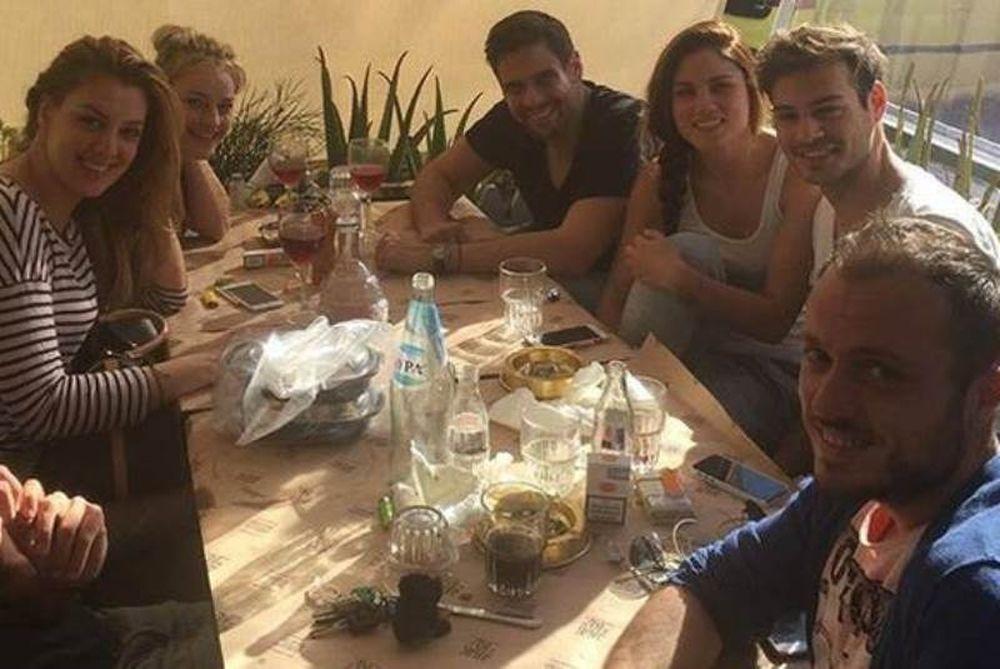Αποχαιρετιστήριο τραπέζι για τους «Spata live»