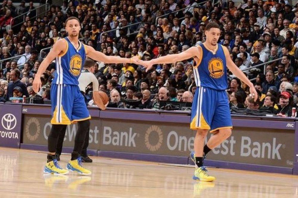 NBA: Show από τους «Splash Brothers» (videos)