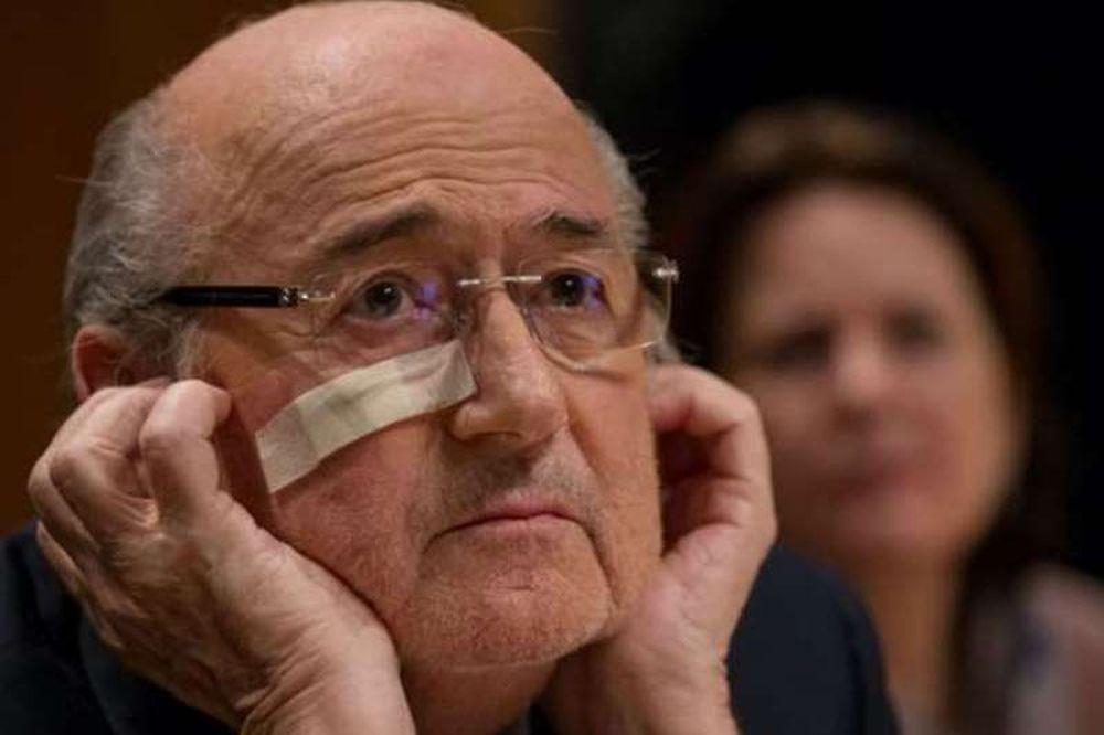 Για σκευωρία της FIFA κάνει λόγο ο Μπλάτερ