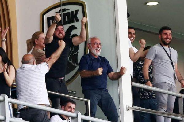 Τρελάθηκε με το Champions League ο Ιβάν Σαββίδης (photos)
