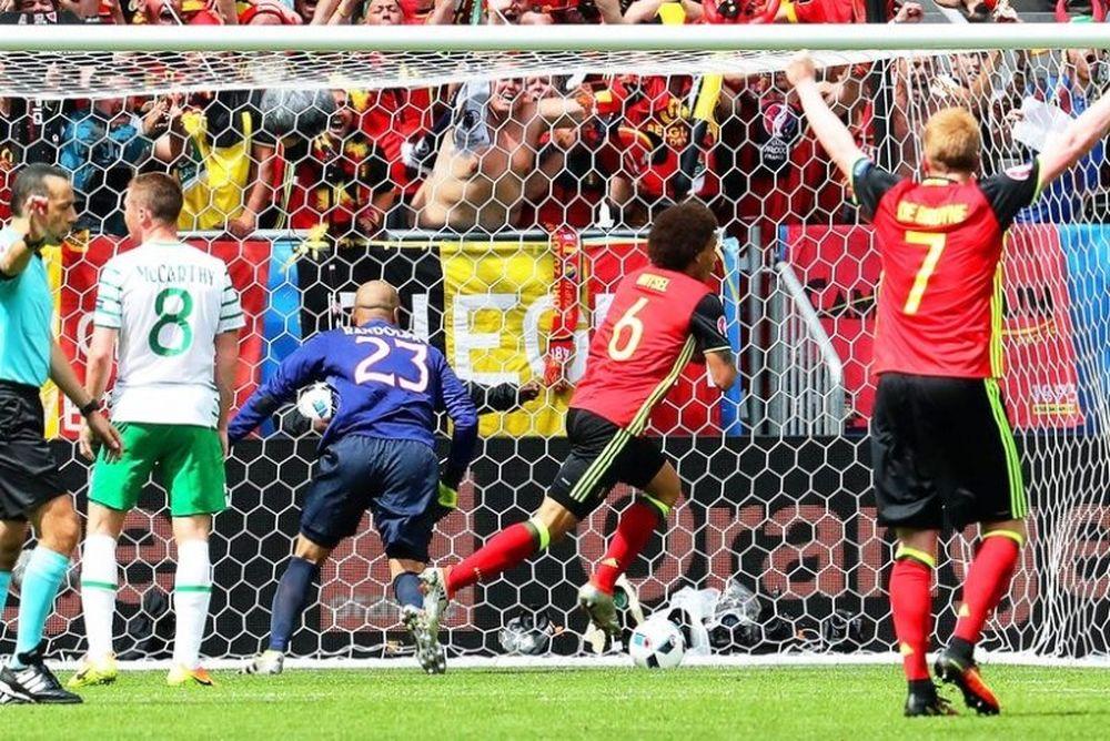 Euro 2016: Βέλγιο – Ιρλανδία 3-0: Έκανε πλάκα και προκρίνεται
