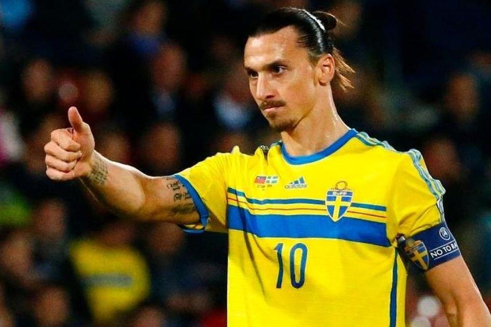 Ιμπραΐμοβιτς: «Είμαι η Σουηδία»