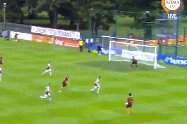 Ρόμα: Σκόραρε σε φιλικό ο Τοροσίδης! (video)