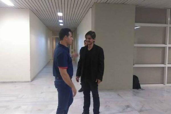 «Θερμή» συνομιλία Δ. Γιαννακόπουλου-Δ. Ιτούδη (videos+photos)