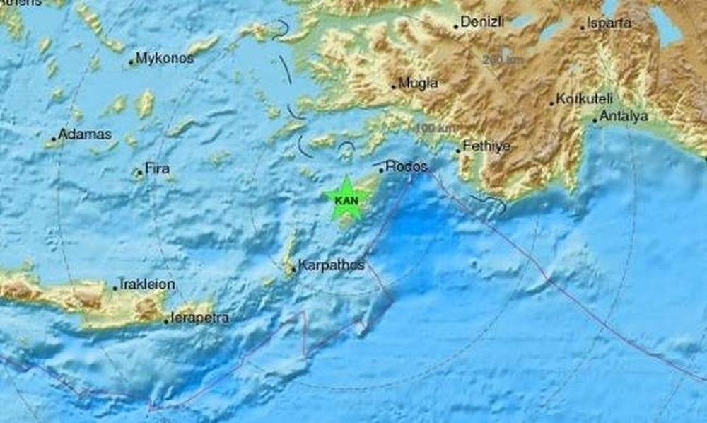 Σεισμοί «ταρακούνησαν» Ρόδο και Κρήτη
