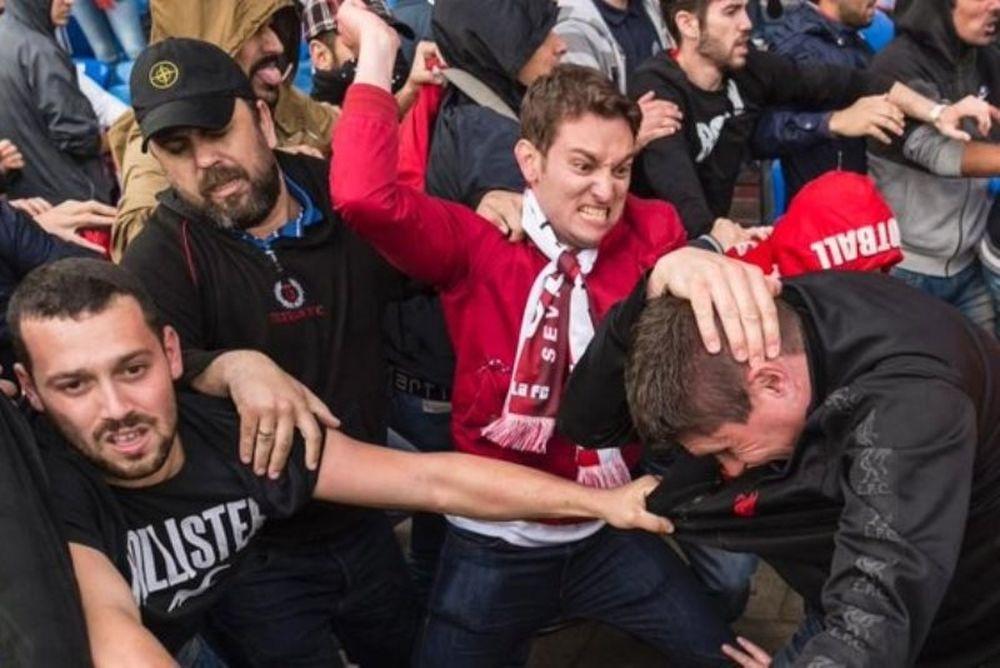 Champions League: Επεισόδια και μαχαιρώματα στην Σεβίλλη