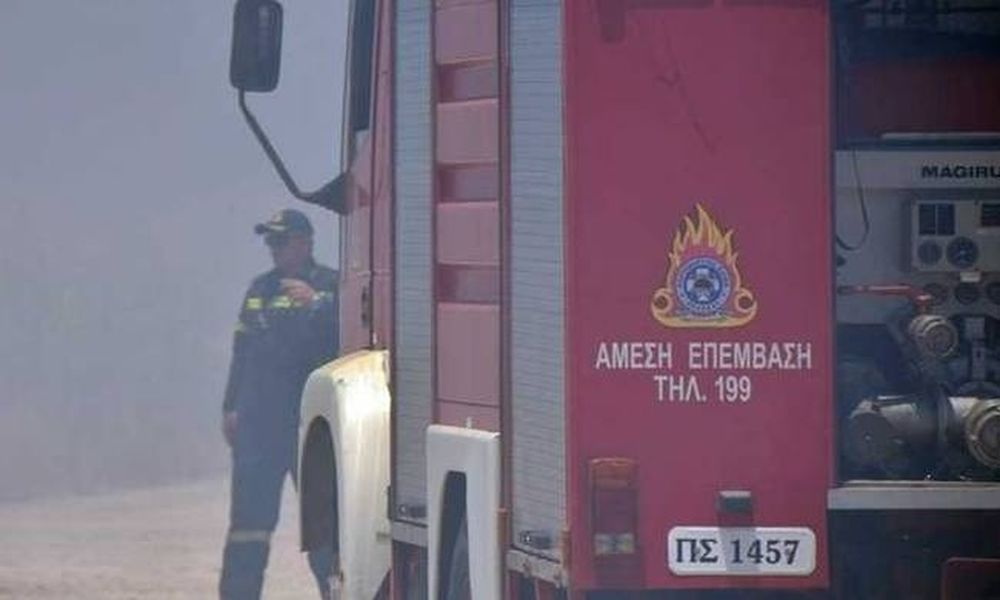 Χανιά: Συναγερμός για φωτιά σε γκαράζ ξενοδοχείου