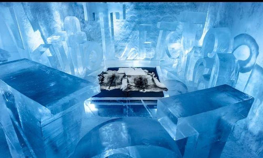 Ποιο ιγκλού; Σε αυτό το ξενοδοχείο ο πάγος δεν λιώνει ποτέ!