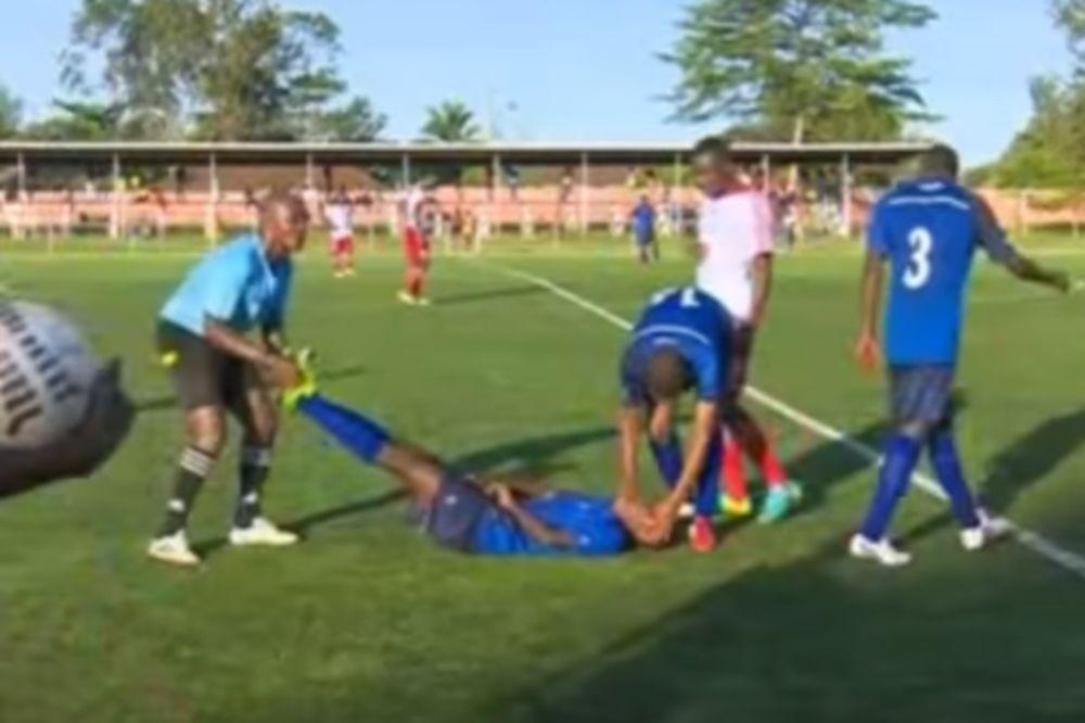 Σοκαριστικό video: Ποδοσφαιριστής «έσβησε» στο γήπεδο!