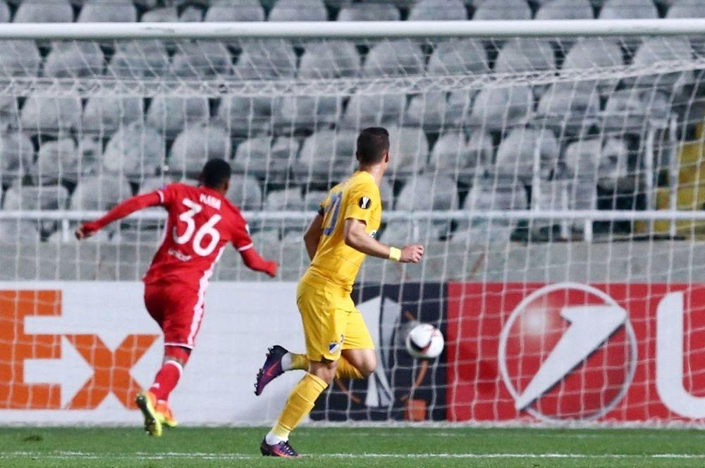 ΑΠΟΕΛ-Ολυμπιακός 1-0: Το γκολ του Σωτηρίου (video)