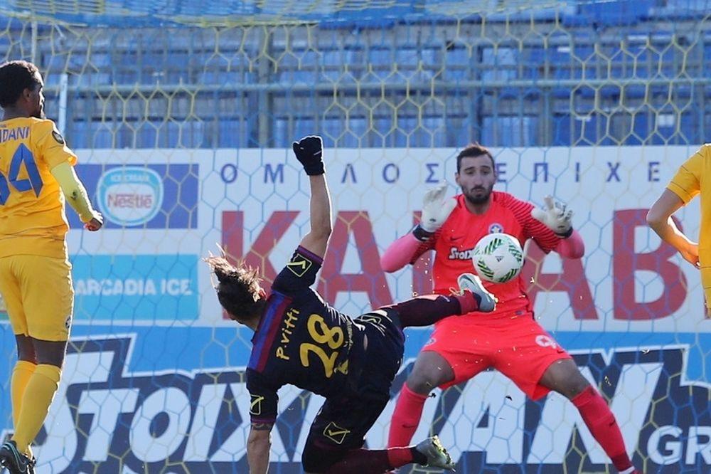 Αστέρας Τρίπολης-Βέροια 0-0: Έστησαν «μπλόκο» Λόπεζ και Ντοναρούμα!