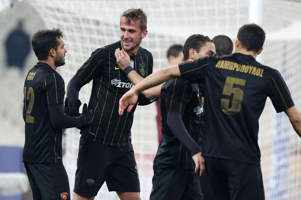 AEK-Λεβαδειακός 4-0: Ο Πέκχαρτ έφερε το... ξέσπασμα!