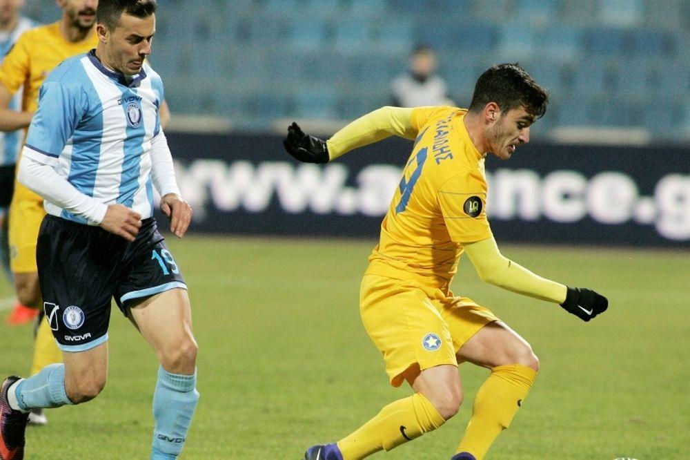 Ηρακλής-Αστέρας Τρίπολης 1-1: Του πήρε την μπουκιά από το στόμα!