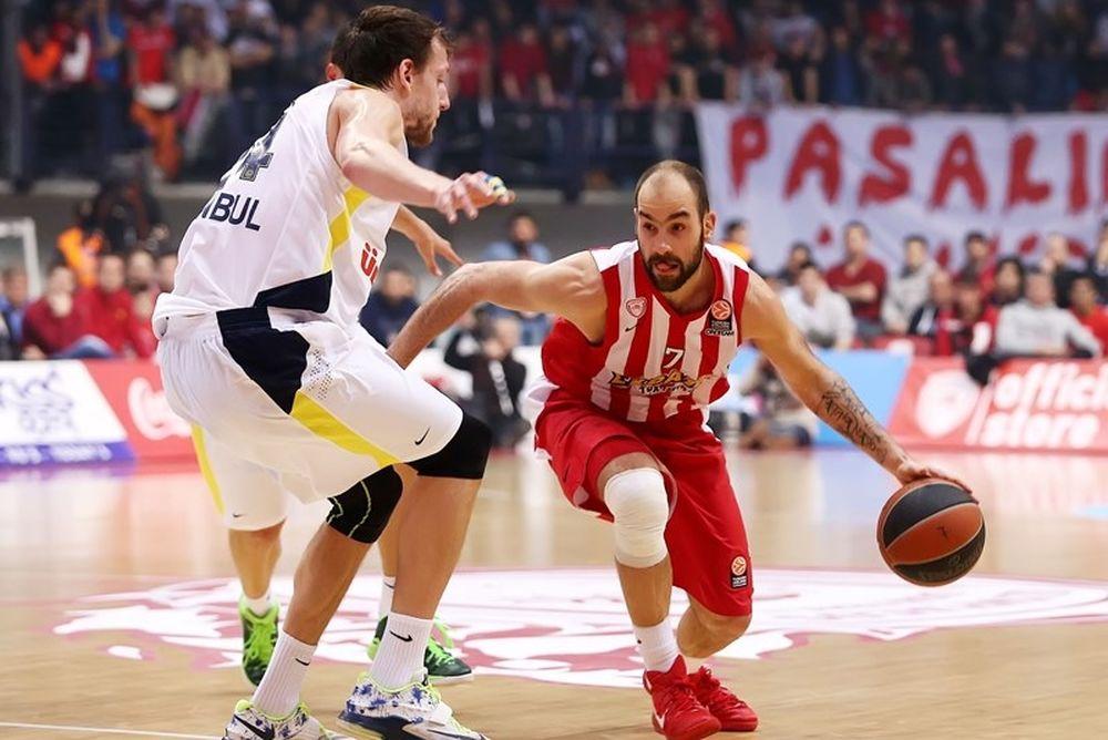 O αγώνας Ολυμπιακός - Φενερμπαχτσέ και η 15η αγωνιστική της EuroLeague στα κανάλια Novasports!