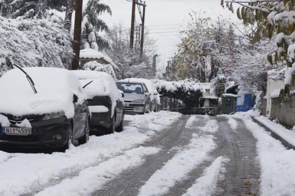 Νέα ανατροπή: Δείτε πού θα ρίξει το περισσότερο χιόνι σήμερα!