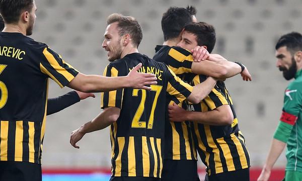 ΑΕΚ-Λεβαδειακός 6-0: Σαρωτική και εξάσφαιρη